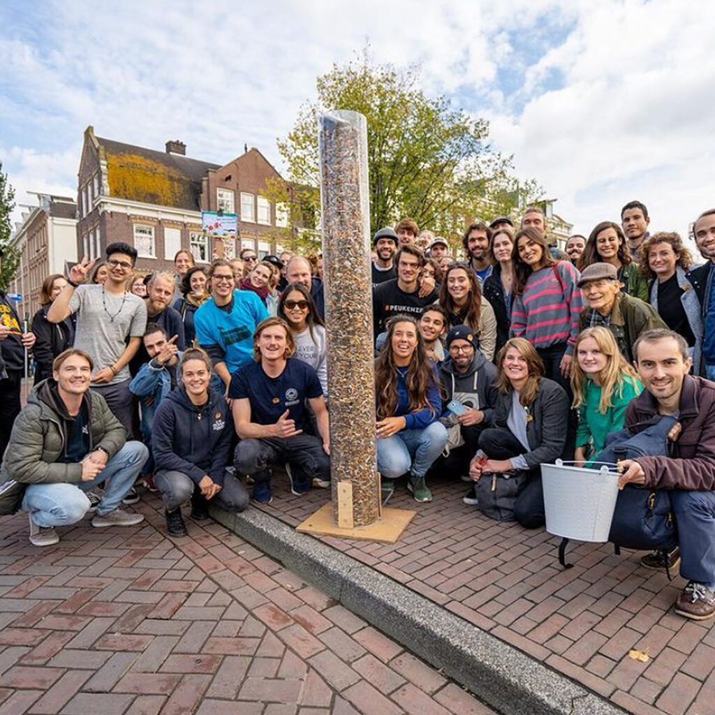 world clean up day Amsterdam vrijwillers